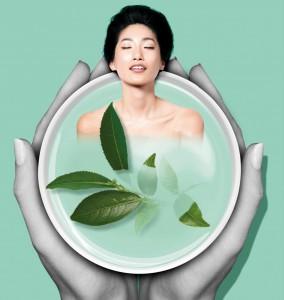 A zöld tea és a testápolás