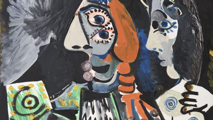 Pablo Picasso Matador meztelen nõvel, 1970