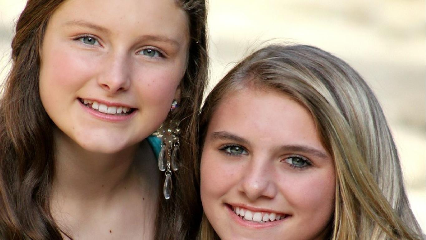 Valódi szépség fiatal lányoknál