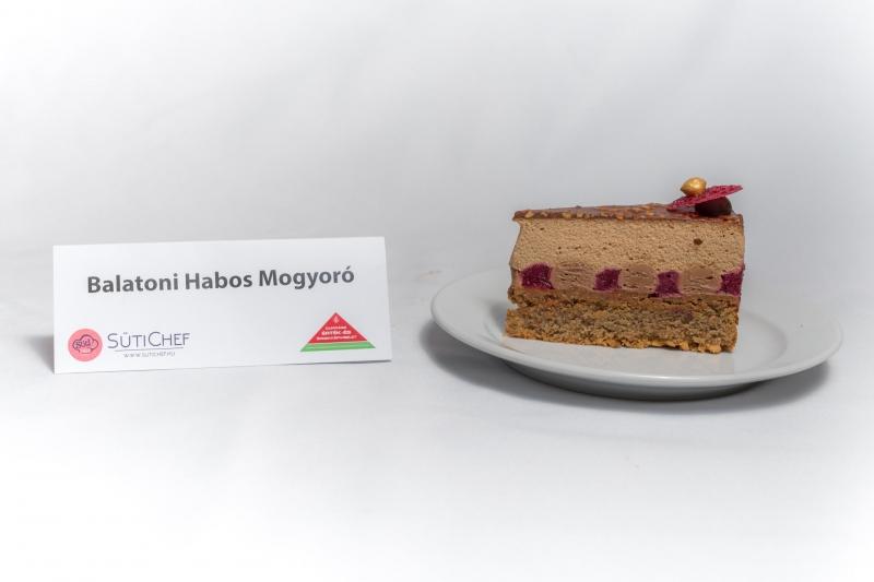 Balatoni Habos Mogyoró Magyarország tortája