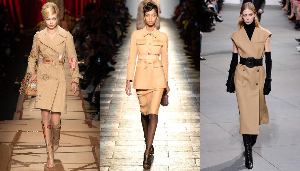 Színes trendek télen/bézs Forrás: Vogue