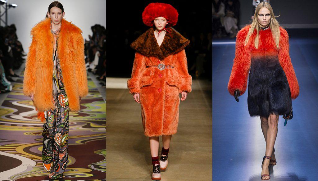 Téli színtrendek/narancs Forrás: Vogue