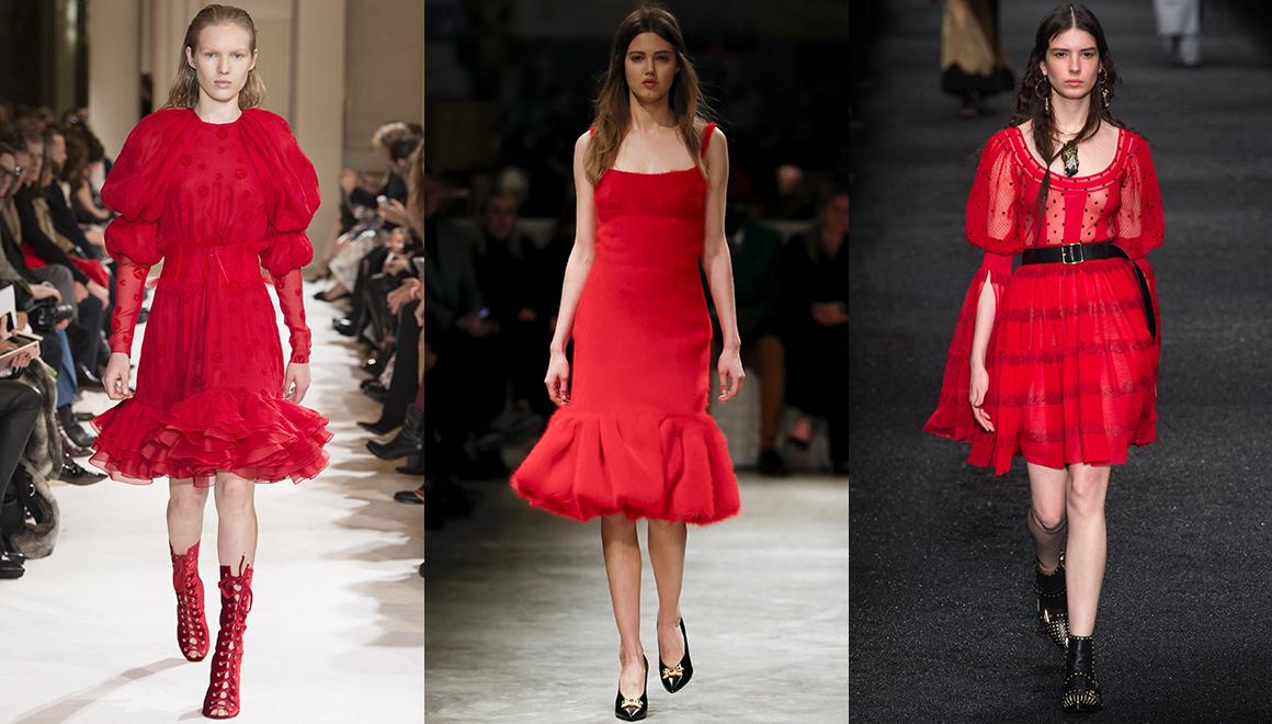Téli trendszínek/piros Forrás: Vogue