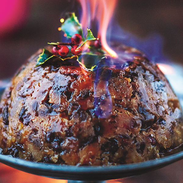 Karácsonyi puding (Jamie Oliver: Karácsonyi receptek)