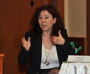 Takács Júlia, a Victoria+ alapító- ügyvezető igazgatója