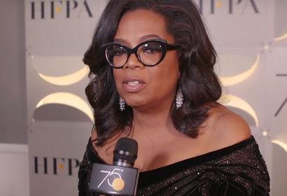 Oprah Winfrey a Golden Globe -on