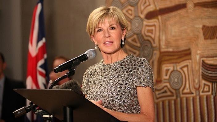 Julie Bishop, Ausztrália külügyminisztere Magyarországon